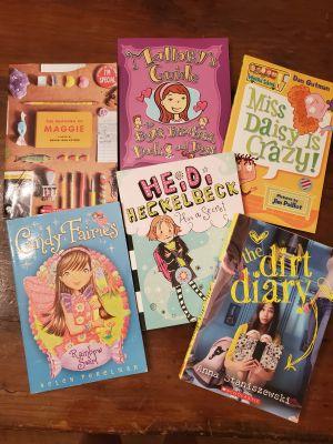 Assorted books tween