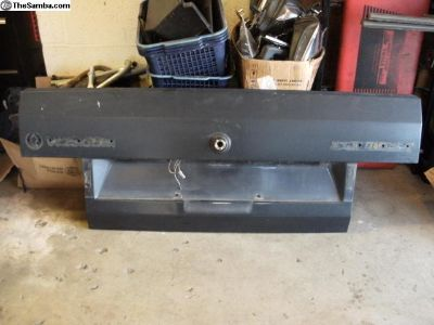 Cabriolet MK1 Rear Trunk Hatch Decklid