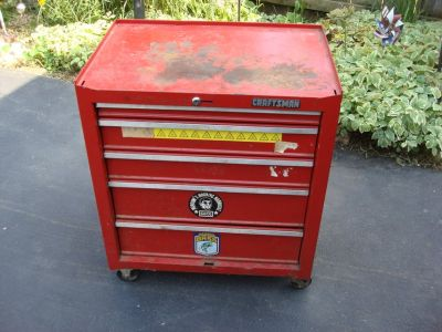 CRAFTSMAN 4 DRAWER TOOL CHEST