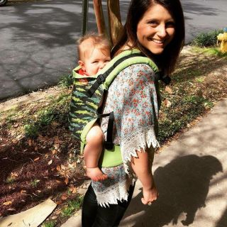 Tula Later Gator Infant Carrier