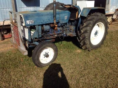 Long 45 hp tractor