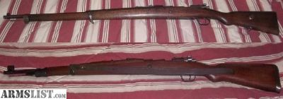 For Sale: 2, 8mm Mauser Rifles