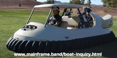 Bubbas Hovercraft Model 7600 The Ultimate Golf Cart