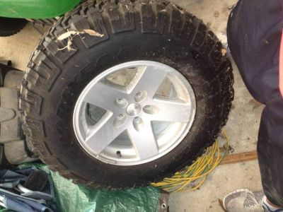 Jeep Wrangler Rubicon Tire