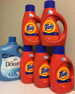 Tide/Downy. Price is Firm.