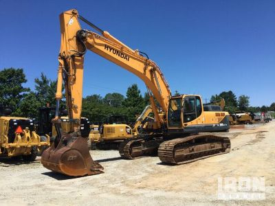 2012 Hyundai Robex380LC-9 Track Excavator