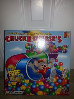 NEW Chuck E. Cheese's Skytubes Board Game