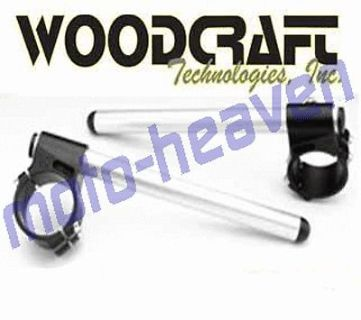 Buy Kawasaki ZX6 2008 Woodcraft Race Clip-ons Handle Bars 50mm ZX6RR 636 RR ZX6R motorcycle in Sugar Grove, Pennsylvania, United States, for US $147.24