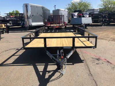 "2018 MAXXD TRAILERS 12' X 77"" SA WHITE SERIES UTILITY TRAILER Equipment Trailer Trailers Paso Robles, CA"