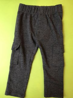 Cotton cargo pants, grey