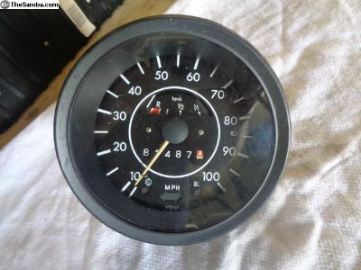 Super Beetle Speedometer