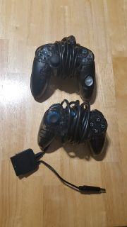 2 PS3 wired controllers