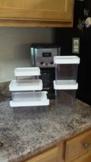 GUC 3- 5pc Set of Click Clack Storage Containers