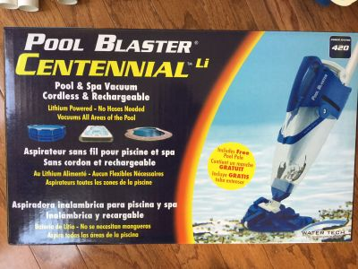 Pool Vacuum cordless & rechargeable