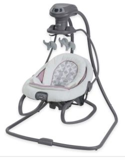 Graco DuetSoothe Swing and Rocker in Raena-NEW