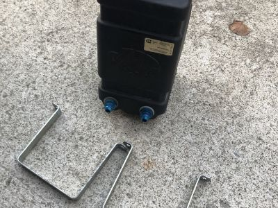1 Gallon JAZ fuel cell. With brackets