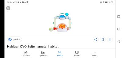 Hamster or other small animal cage Habitrail