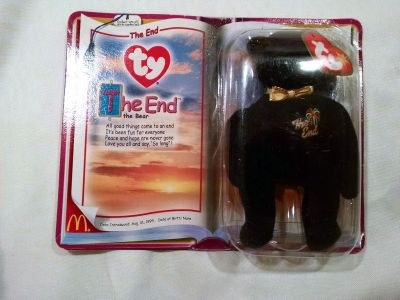 The End Collectors Special Beanie Baby
