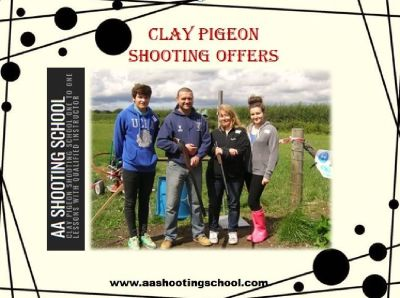 Catch Amazing Clay Pigeon Shooting Offers