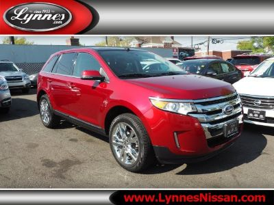 2014 Ford Edge Limited (Red)