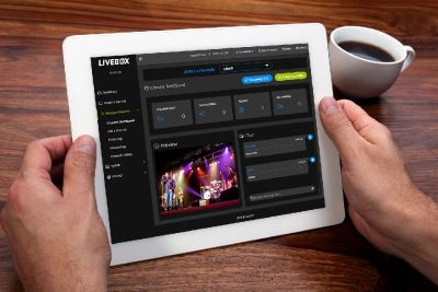 Livebox live streaming server