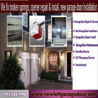 24/7 Garage Door Opener Installation & Repair | Rockwall Dallas, 75087 TX