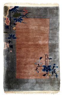 Handmade antique Art Deco Chinese rug, 1B609