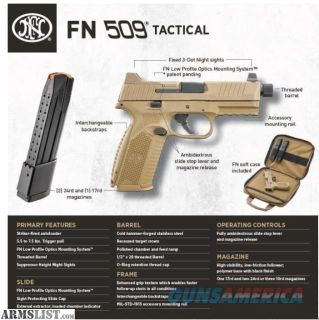 For Sale: WTS: NEWLY LAUNCHED FN509 TACTICAL