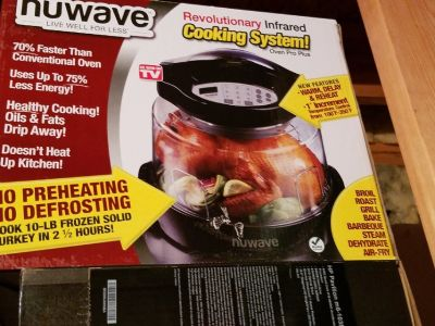 NuWave Cooking System with Extender Ring