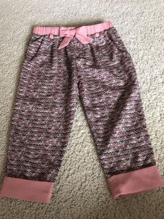 Silky pants. Size: 18 months.