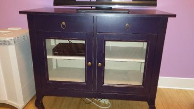 Beautiful and unique storage buffet/tv stand