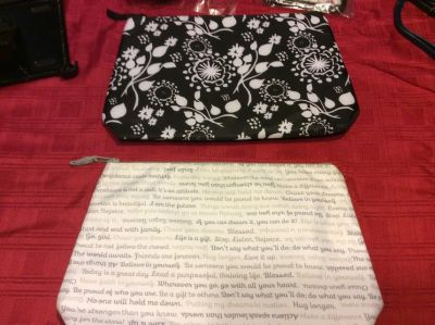 Thirty One insulated zippered pouches