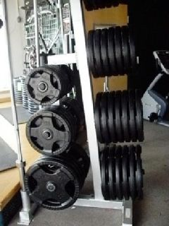 Olympic Weight Plates, Rubber Grip