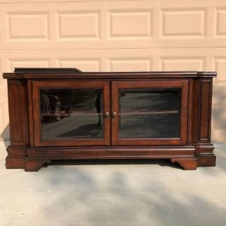 Solid Wood Media Console