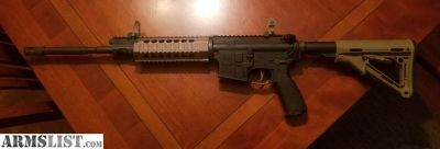 For Trade: Adams Arms Piston rifle with upgrades