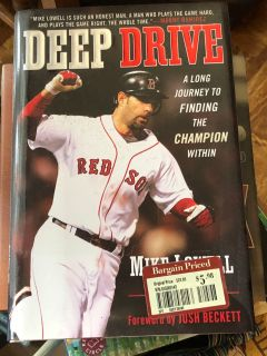 DEEP DRIVE Mike Lowell. Great condition. Hardback