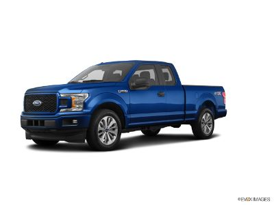 2018 Ford F-150 F150 4X4 SUPERCAB (Lightning Blue)