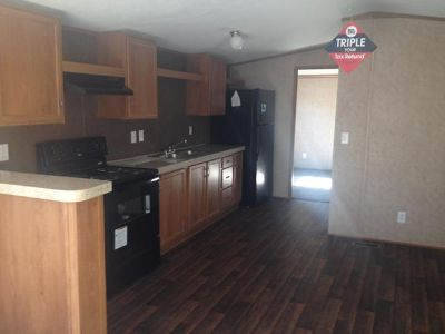 $38,900, 3br, Free Washer and Dryer for first time Manufactured home buyers.