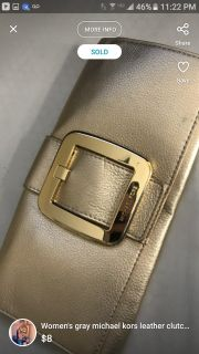 Like new Guess Sutton Clutch