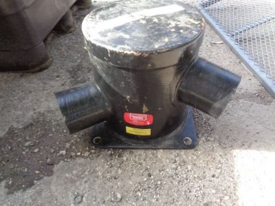 """Find NAUQUALIFT SILENCER XT-THU-P2795 6"""" IN/OUT 14.25"""" ROUND 16""""H MARINE MUFFLER CORP motorcycle in Seminole, Florida, United States, for US $299.99"""