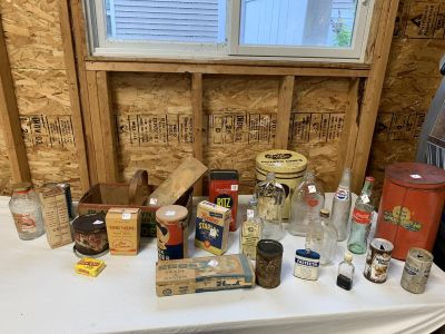 Old/vintage food cans collectibles