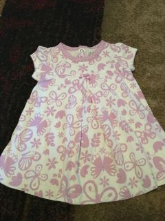 Child of mine 6-9m prpl/wht knit dress - ppu (near old chemstrand & 29) or PU @ the Marcus Pointe Thrift Store (on W st)