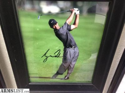 For Sale/Trade: Tiger Woods autograph