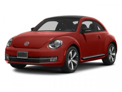 2013 Volkswagen Beetle Turbo PZEV (Silver)