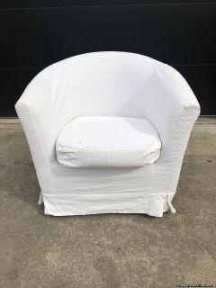 Ikea TULLSTA Armchair Beige Cover