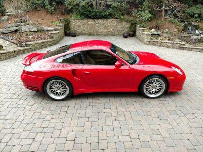 2002 Porsche 911 Carrera 4 Turbo (Red)