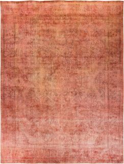 "Vintage, Hand Knotted Area Rug - 9' 10"" x 12' 5"""