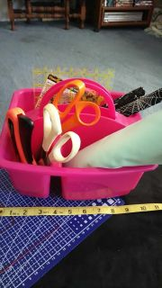Pink Tote (Empty)