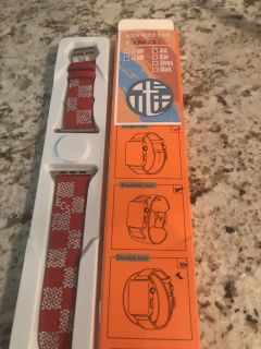 Smart watch band. New with ECS initials