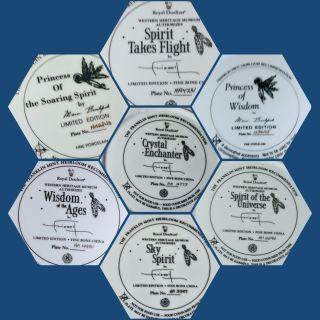 Franklin Mint Royal Daltin Plates